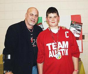 Austin with Paul Rosen